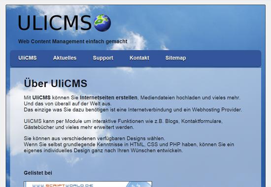 UliCMS
