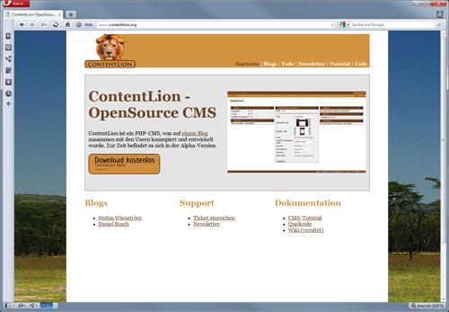 ContentLion Startseite